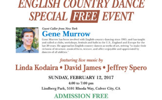 Free Special Event with Gene Murrow flyer