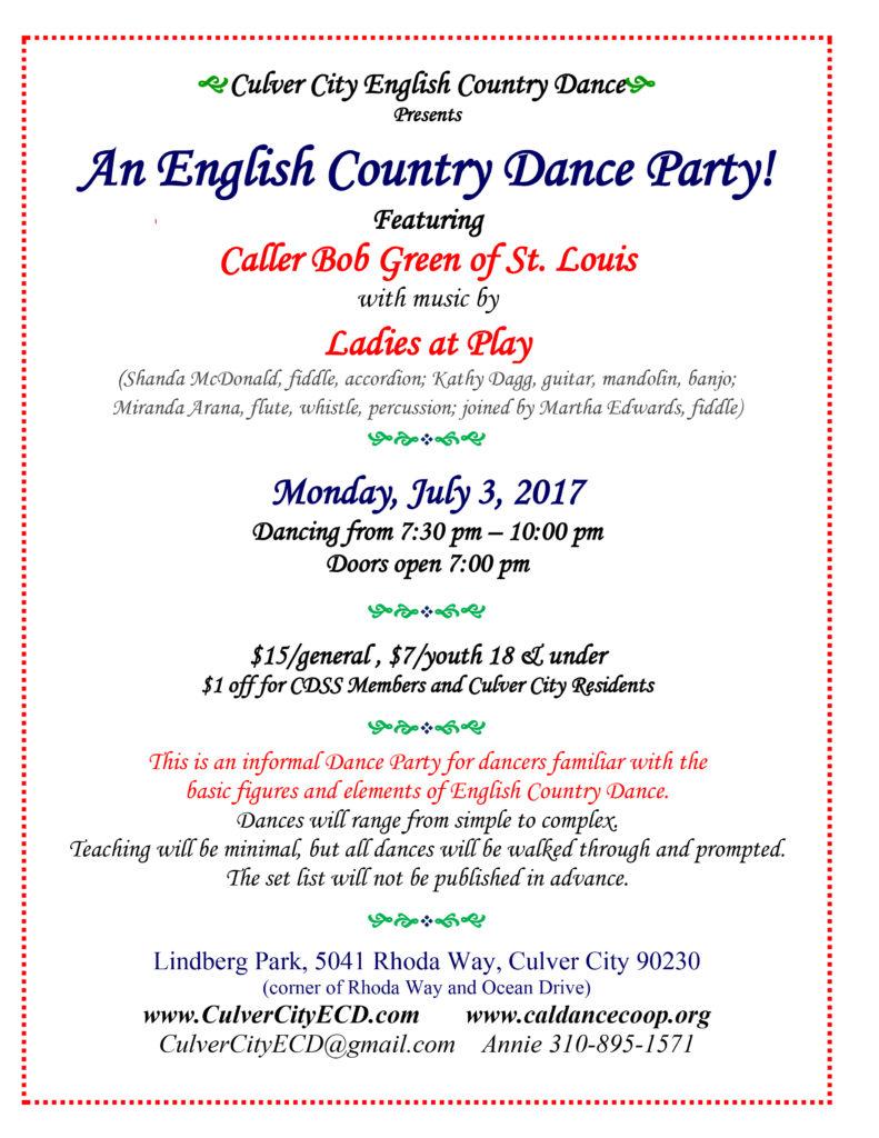 Dance Party - Flyer